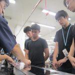 農工大の留学生が工場見学にきました! 2017年9月