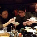 3年ぶりにグループ懇親会が開催でき、笑顔がはじけた板金グループのただ飲み会。長年共にグループを支えてきた絆がまた深まった一日となりました。 2018年1月