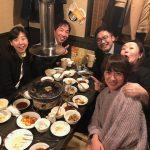 千葉テレビの大林健太郎プロデューサーとご一緒させていただき、元プロ野球選手 中畑清さんのご子息の焼き肉店で、美味しいお肉とお酒を堪能させていただきました! 2018年2月